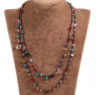 Pretty New Long Style Multi Color Cyrstal Beads Necklace(Also can be Bracelet)
