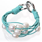 Fashion multilags 10-11mm Natural White Fer...