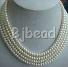 6-7mm white pearl sets