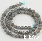 Flashing Stone beads,6mm round, faceted,sold per 15.75-inch strand