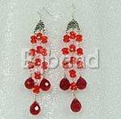 beautiful crystal chandelier earrings