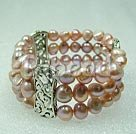 8-9mm pearl stretch bracelet