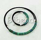 4*10mm phoenix stone necklace bracelet sets
