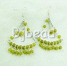 girl's love olive earrings