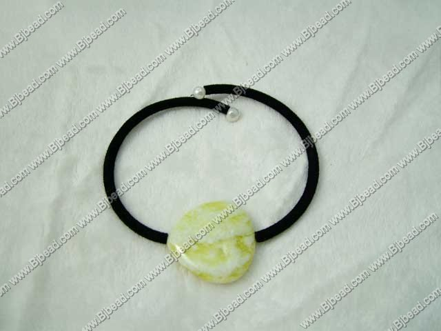 heart shaped lemon stone bracelet