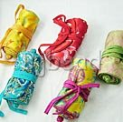 5 pieces jewelry bags((color picked up randomly)