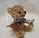 hanmade cute austrian crystal bear under $ 40