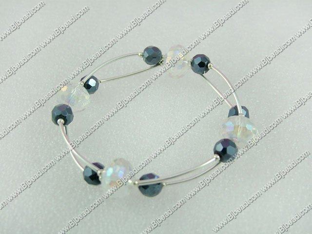 7 inches manmade crystal bangle