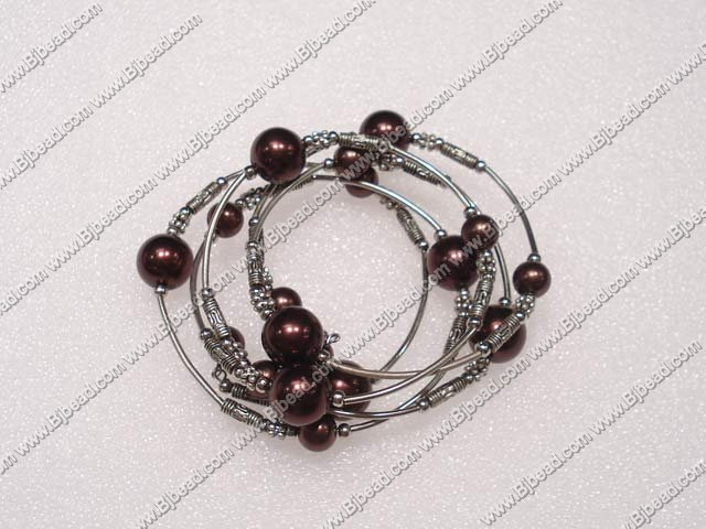 arylic pearl bangle