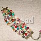 multi color pearl bracelet