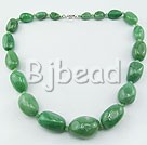 favourite 17.5 inches chunky aventurine necklace