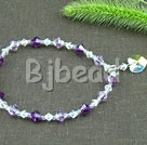 7 inches austrian crystal stretchy bracelet under $ 40