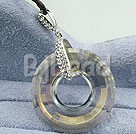 fashion 925 silver austrian crystal pendant