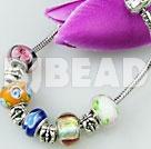 flower pattern charm bracelet