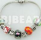 charm flower pattern bracelet
