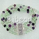 fashion rainbow fluorite bracelet