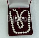 7-8mm white pearl sets